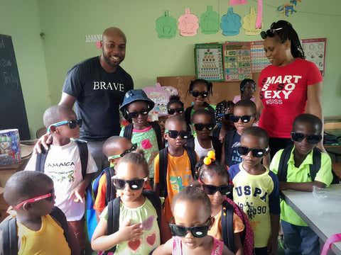 Children in Jamaica with Smart is so Sexy Clothing