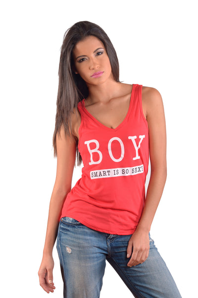 Women's BOY Tank Top