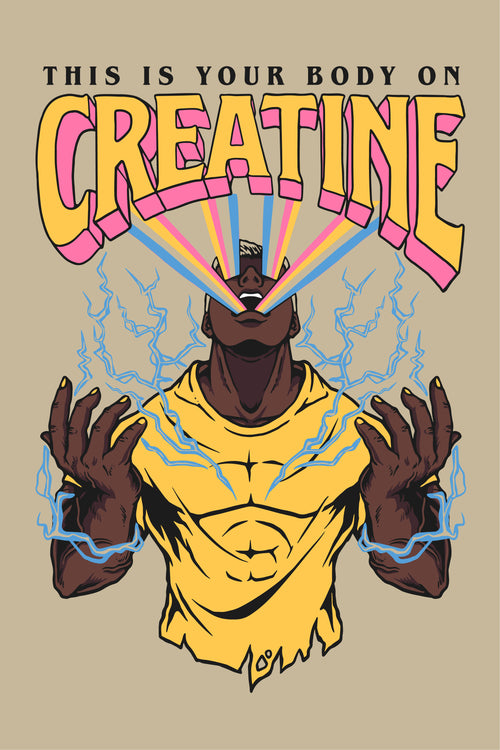 Your Body On Creatine (Sand Limited Edition)