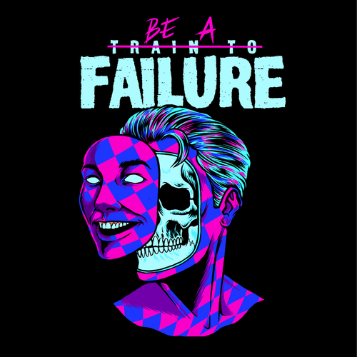 Train To Failure (Jester Limited Edition) *Fitted Tee*