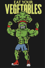 Eat Your Vegetables (Classic Fitted Tee)