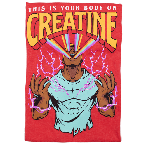 Your Body On Creatine *Ruby Red Limited Edition* (Fitted Tee)