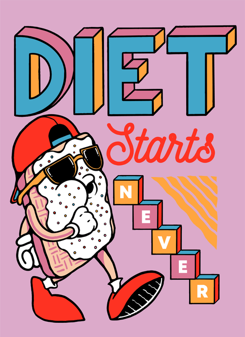 Diet Starts Never (Cotton Candy Limited Edition)