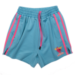 Team No Calves (Teal) Bodybuilding Shorts