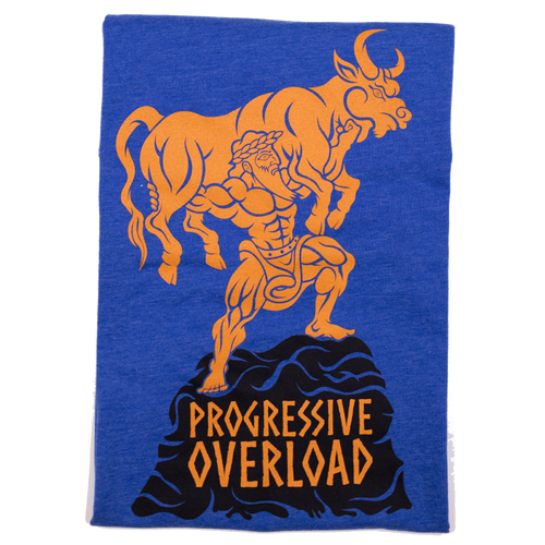 Progressive Overload (Fitted Tee) *Aqua Copper*