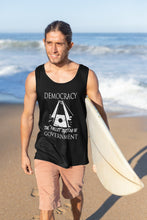 Load image into Gallery viewer, Democracy: the Freest System Tank Top