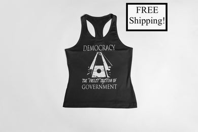 Democracy: the Freest System Women's Tank Top
