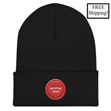 Executive Order Button Beanie