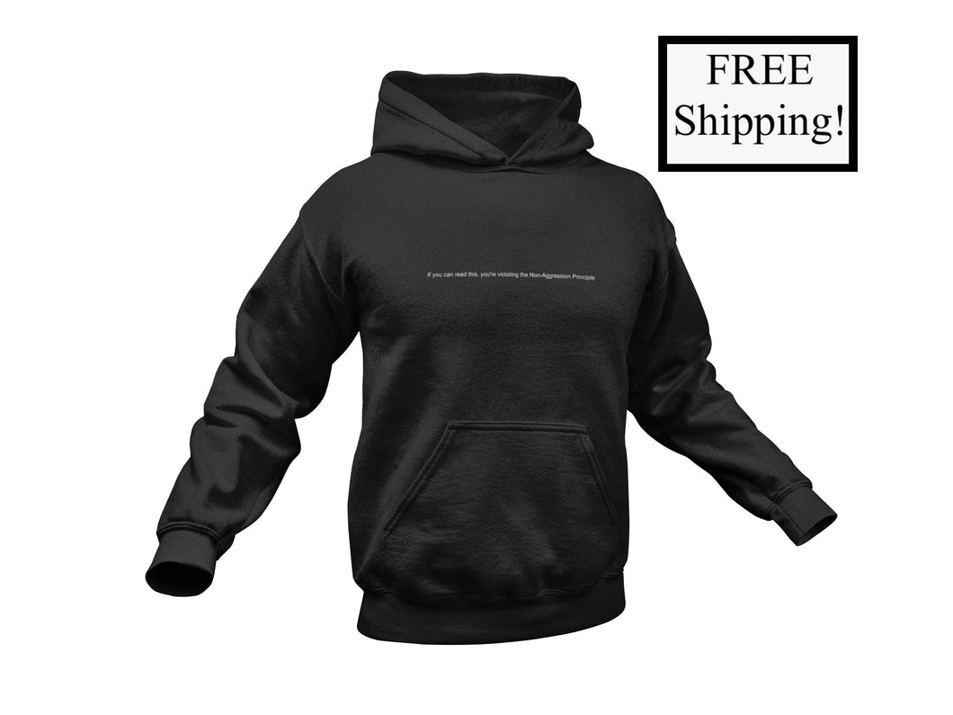 If You Can Read This... Light Hoodie