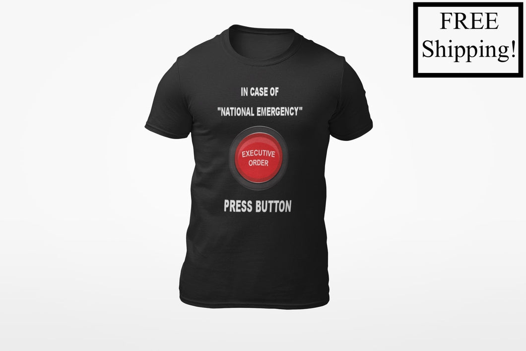 In Case of National Emergency Triblend Shirt