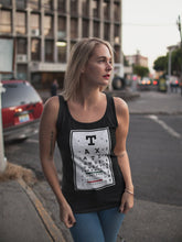 Load image into Gallery viewer, Taxation is Theft Eye Chart Women's Tank Top