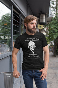 Thomas Jefferson Sea of Liberty Triblend Shirt