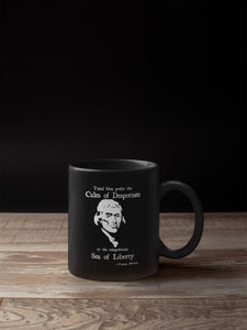 Thomas Jefferson Sea of Liberty 11oz Mug