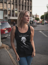 Load image into Gallery viewer, Thomas Jefferson Sea of Liberty Women's Tank Top