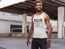 Load image into Gallery viewer, Warning Rant Taxation is Theft Tank Top