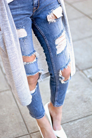 Distressed + Destroyed via For All Things Lovely