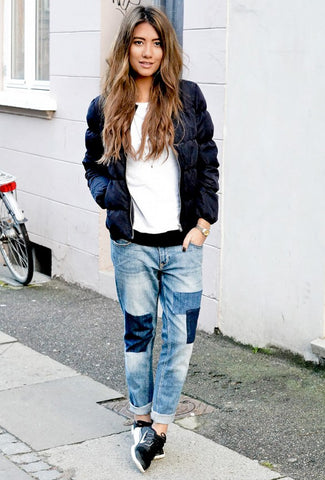 Patchwork Denim via Stone Muse