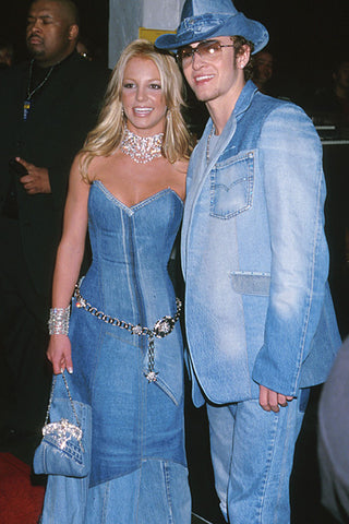 Britney Spears and Justin Timberlake via WireImage