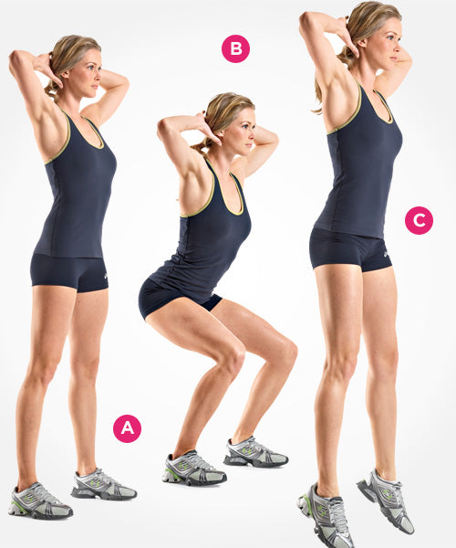 Power Squat via Women's Health