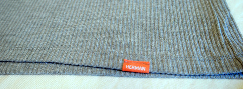 Herman Ribbed V Neck