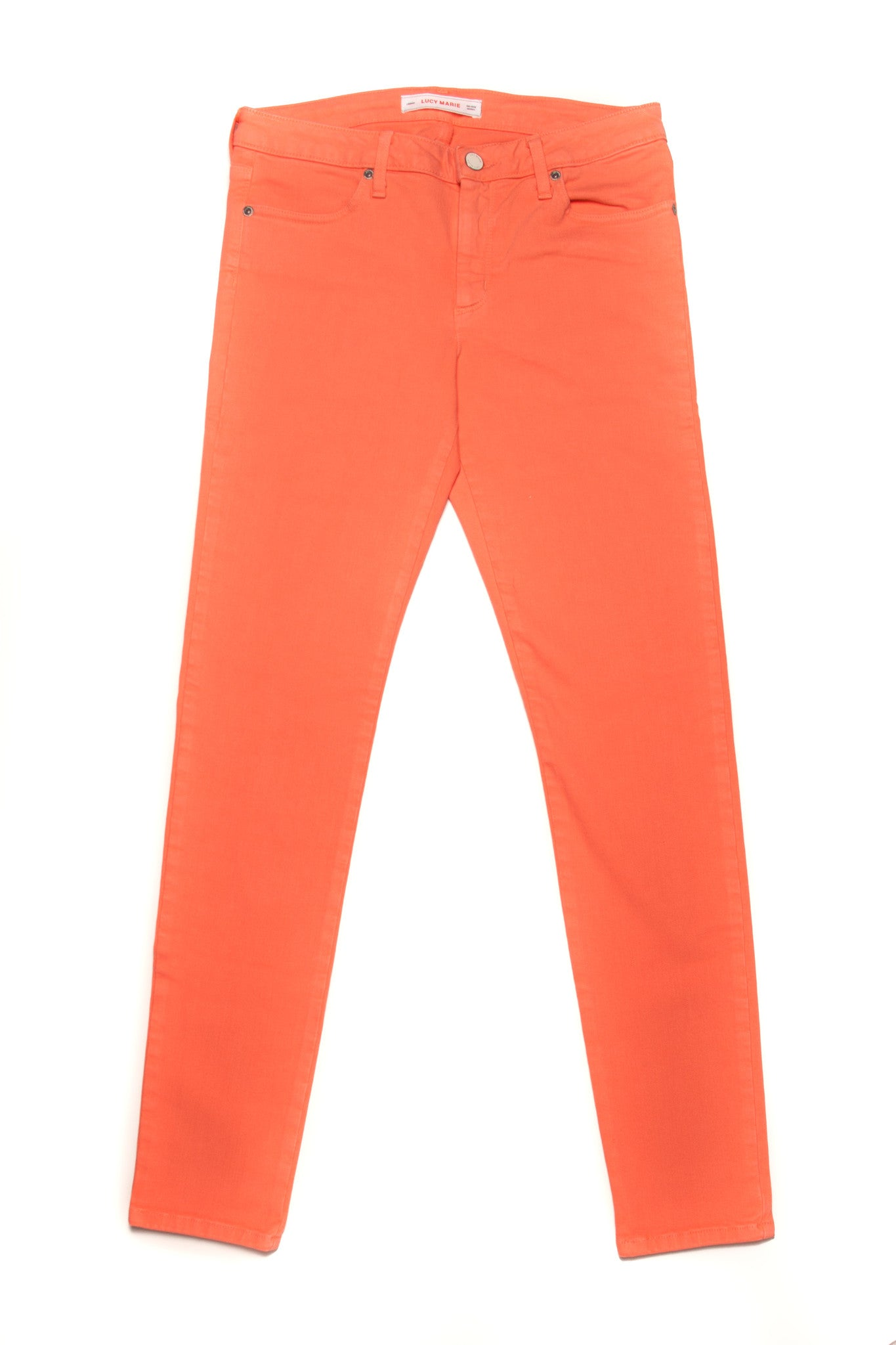Lucy Marie Coral Skinny Jean