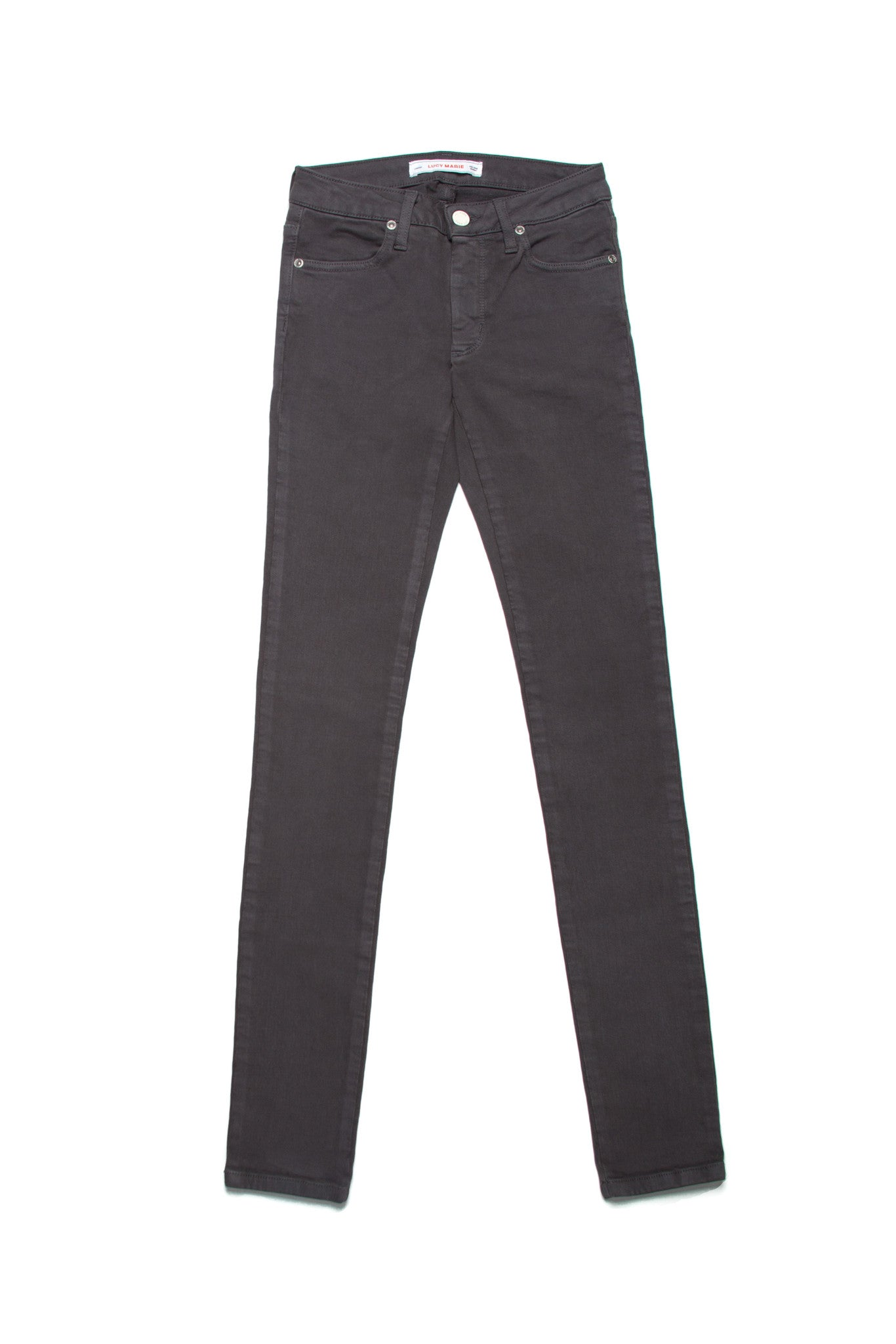 Lucy Marie Charcoal Skinny Jean