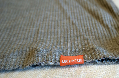 Lucy Marie Ribbed V Neck