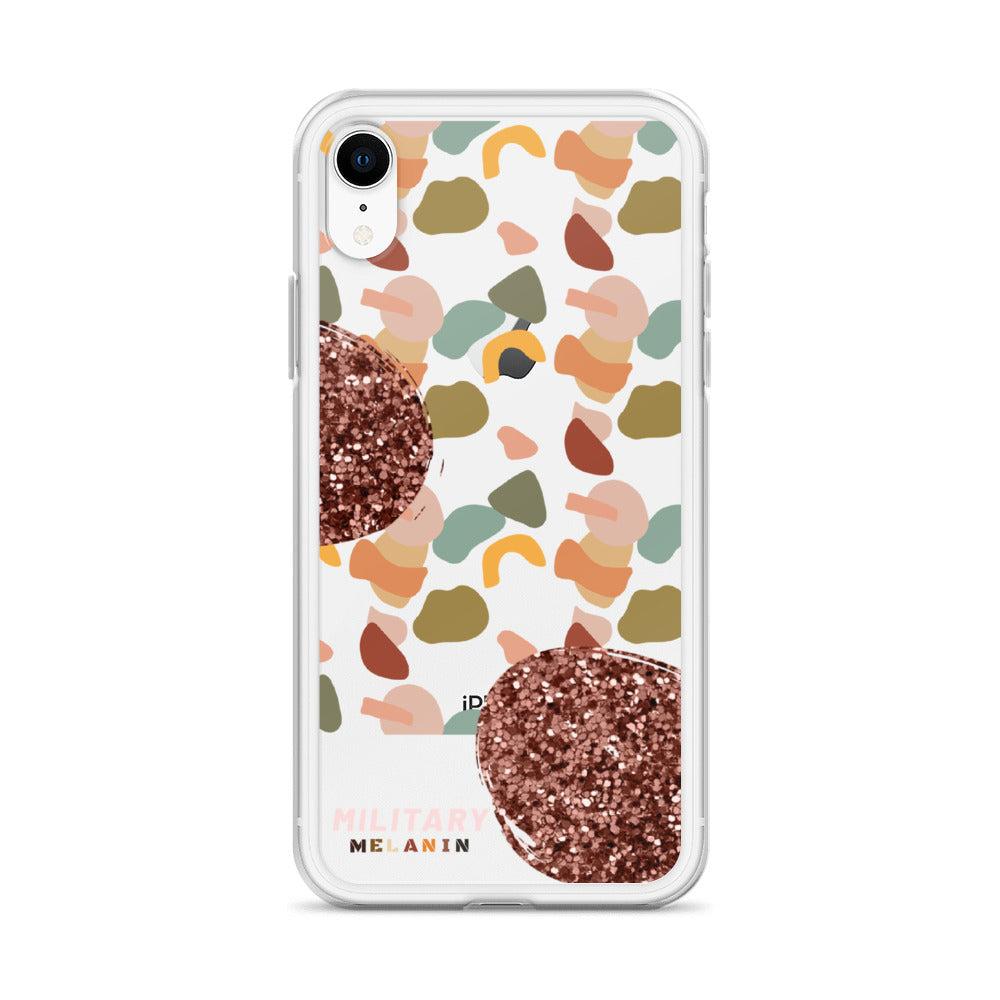 Military Melanin Fatigue iPhone Case