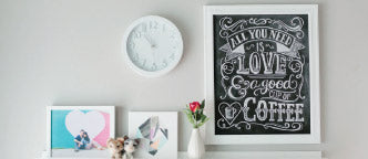 All You Need Is Love & Coffee Print