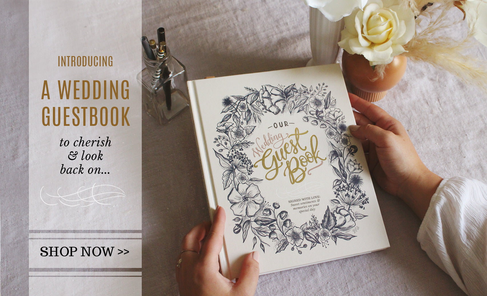 The Lily & Val Wedding Guestbook is Here!