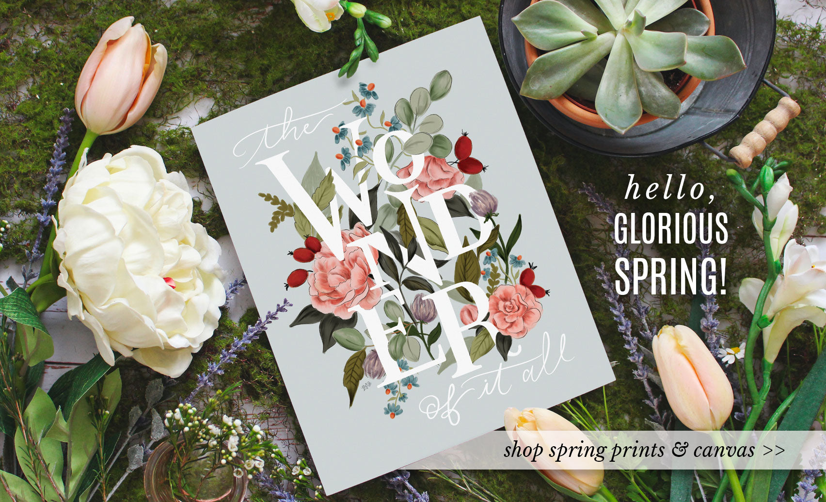 Hello Spring! Explore our new Spring 2019 Wall Art, Prints & Decor