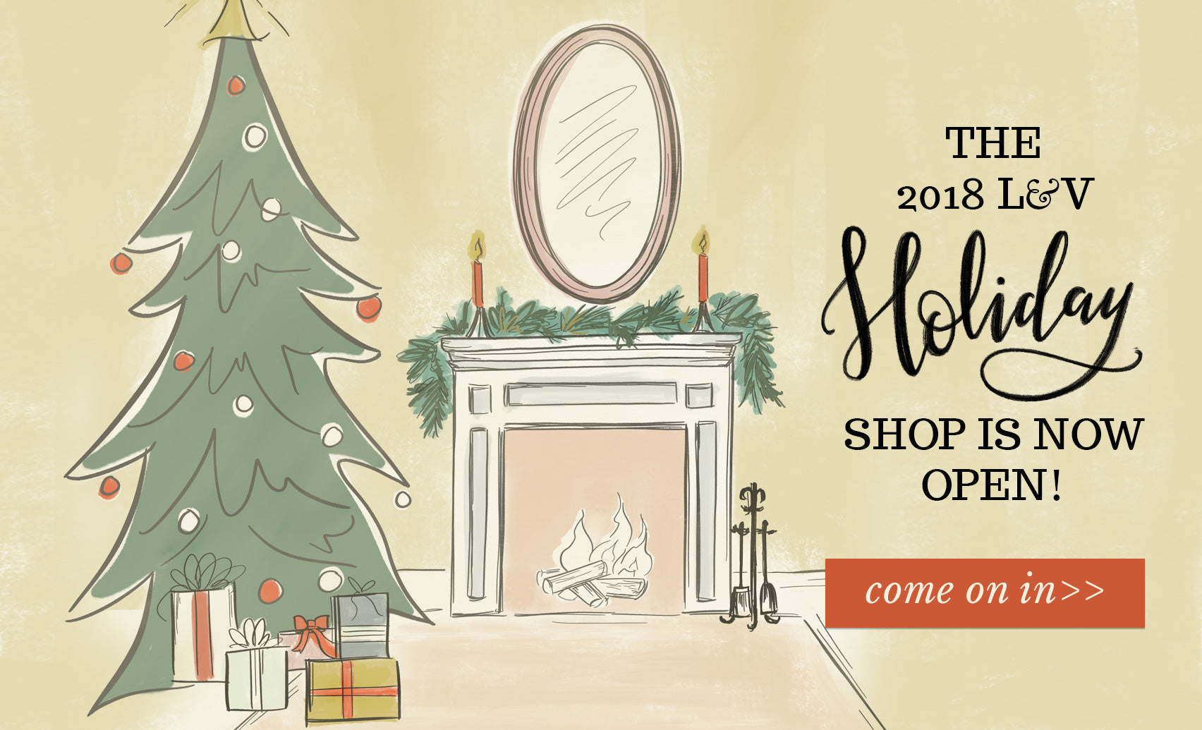 The 2018 Lily & Val Holiday Shop is Open! Shop now!