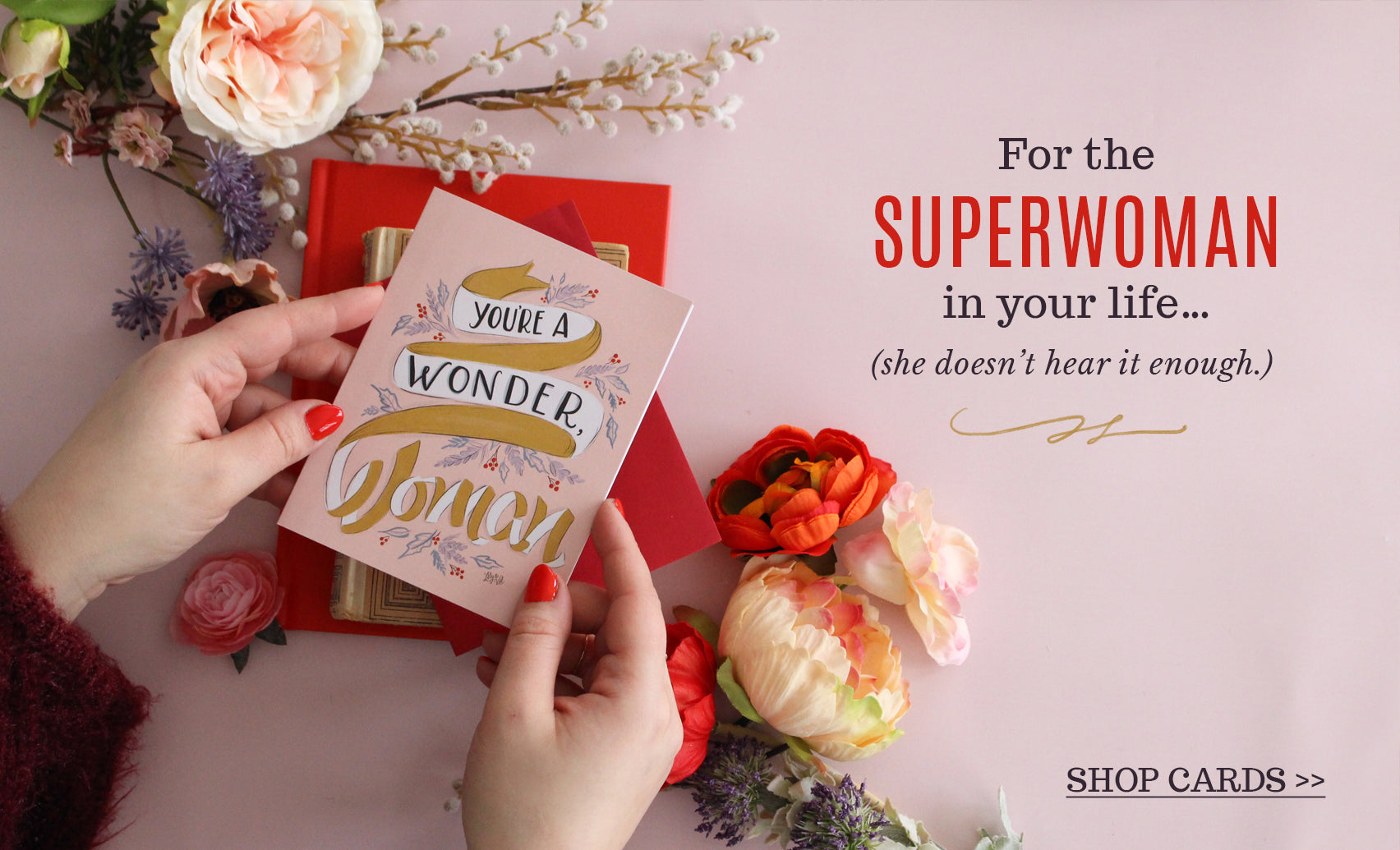 For the superwoman in your life!
