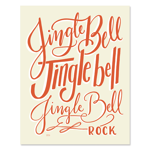 Jingle Bell Rock - Print