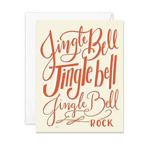Jingle Bell Rock - A2 Note Card