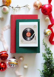 Rockin' Around the Christmas Tree - A2 Note Card