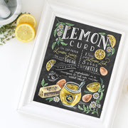 Lemon Curd Recipe - Print
