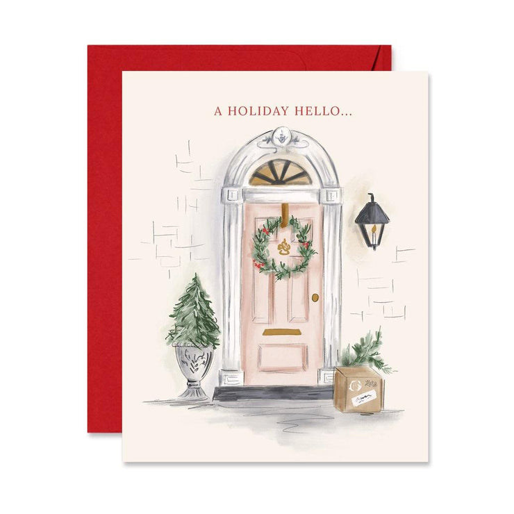 A Holiday Hello - A2 Note Card