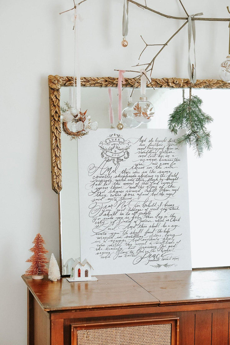 The Story of Christmas - Print