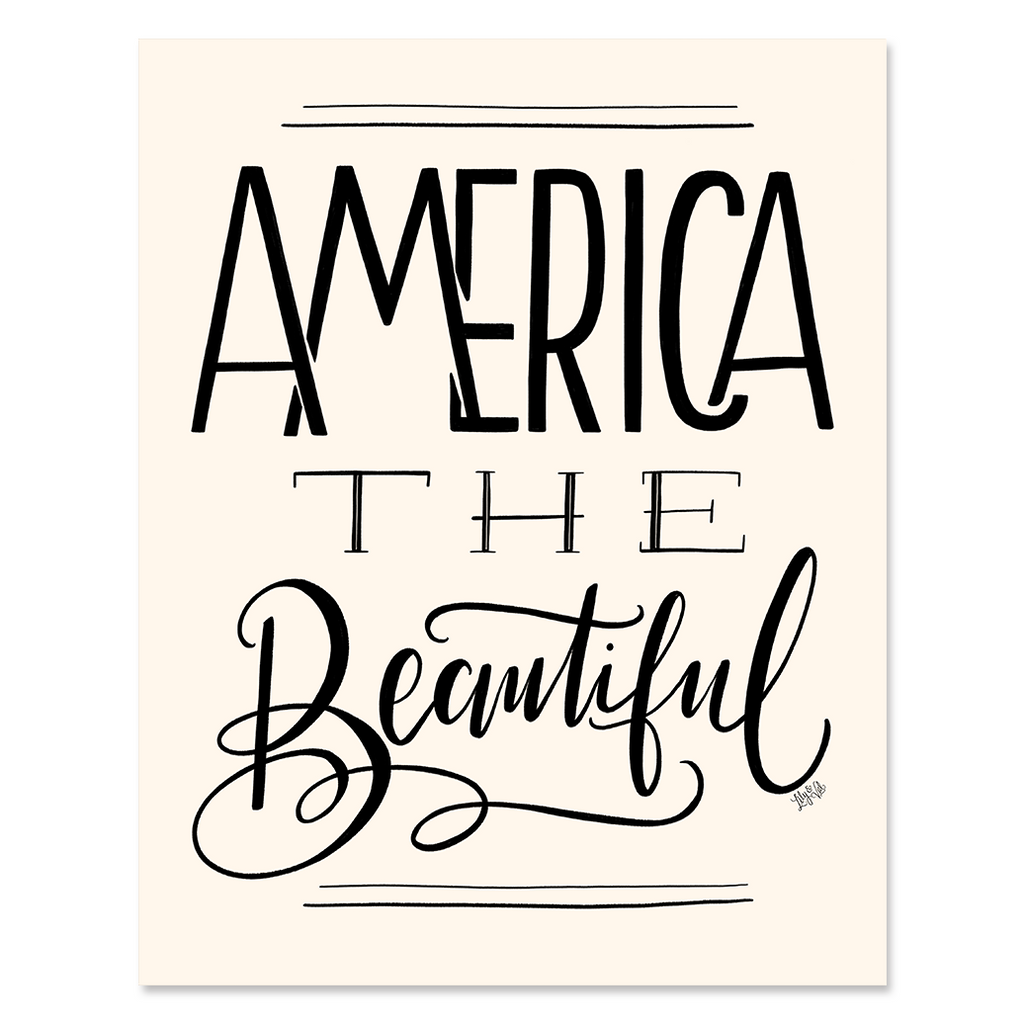 America The Beautiful - Print & Canvas