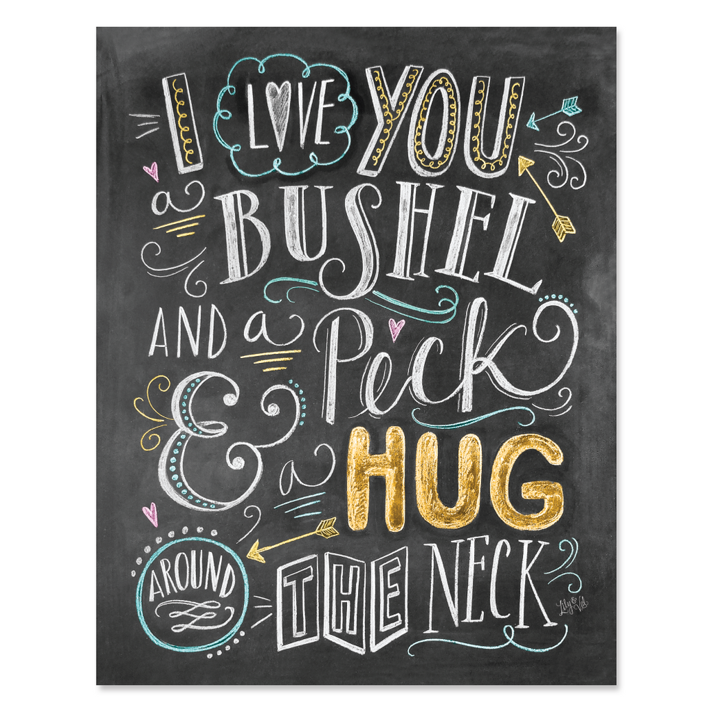 Lily & Val – I Love You a Bushel and a Peck and a Hug Around The ...