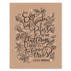 Every Leaf Speaks Bliss to Me - Print