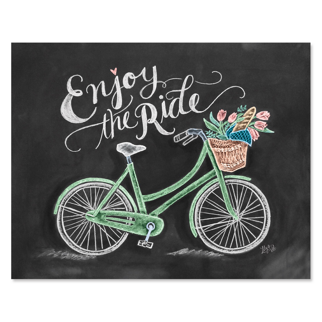 Enjoy The Ride - Print