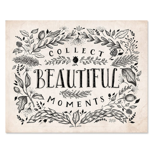 Neutral Collect Beautiful Moments - Print & Canvas