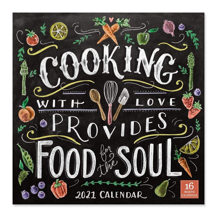 2021 Cooking with Love Calendar