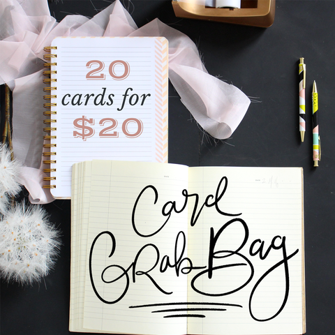 A2 Note Card Grab Bag of 20