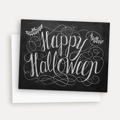 Happy Halloween - A2 Note Card