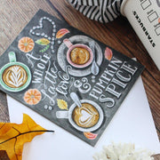 A Whole Latte Love - A2 Note Card