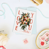 Love You Lots - A2 Note Card