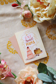 One Sweet Mama - A2 Note Card